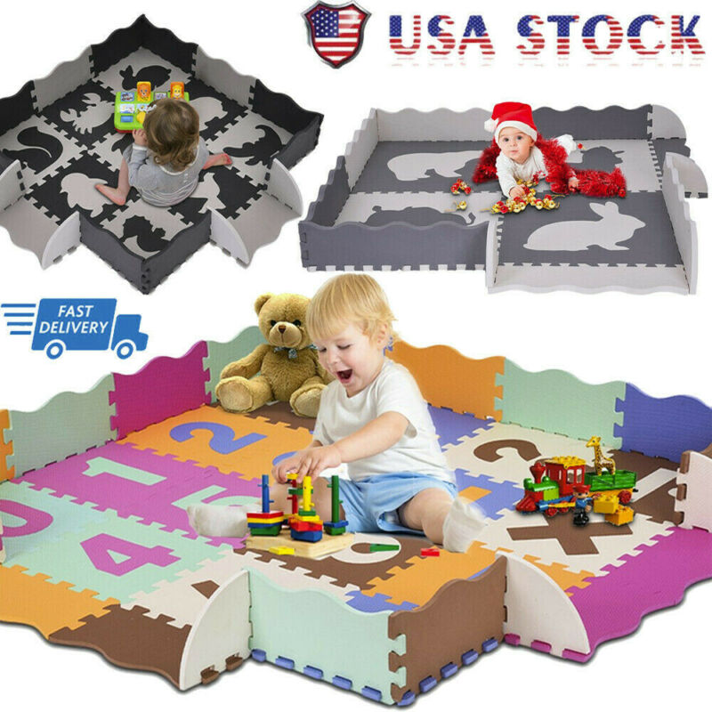 Fashion EVA Floor Play Mat Suitable for Baby Toddler Comfort