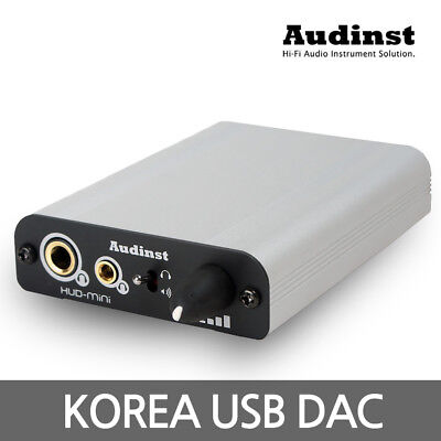 Audinst HUD-mini USB DAC External Sound Card Audio Amplifier HiFi Headphone