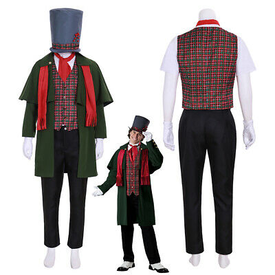 A Christmas Carol Costume Cosplay Suit Men's Outfit