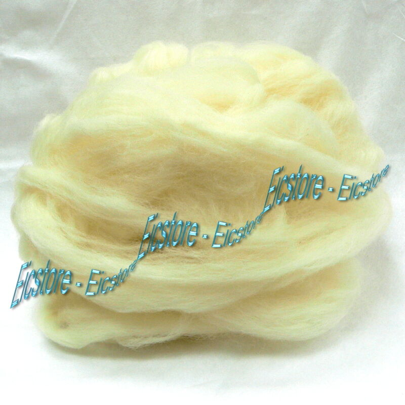 Pure Long Fiber Wool Acoustic Damping Material for Speaker boxes / 0.5 Pound Lb.