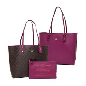 Brand new reversible coach bag tote for sale