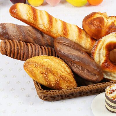 Fake Bread Artificial Rye Bread Simulation Food Model Decoration Window Display