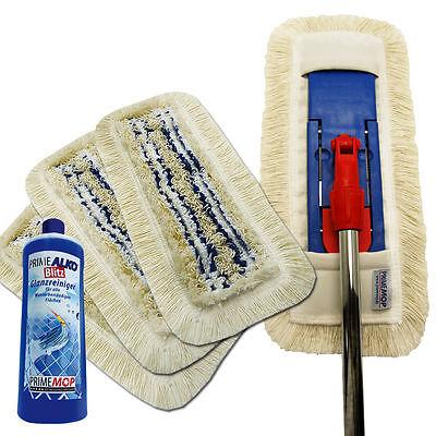 Mopa limpieza 40cm Set de 6 EN 1 Limpiador Piso Soporte Plegable...