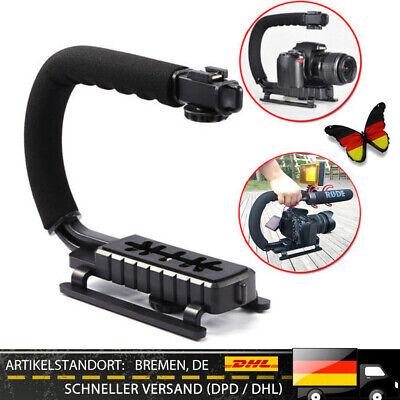Hand Schwebestative DSLR Video Kamera Halter Stabilizer Handgriff Camcorder TOPM