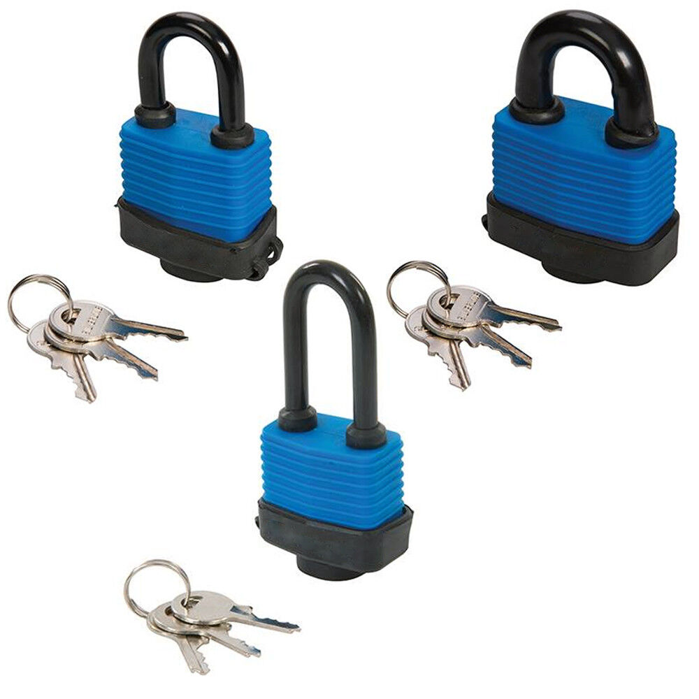 Weather Resistant Security Padlocks –Outdoor Secure Gate L