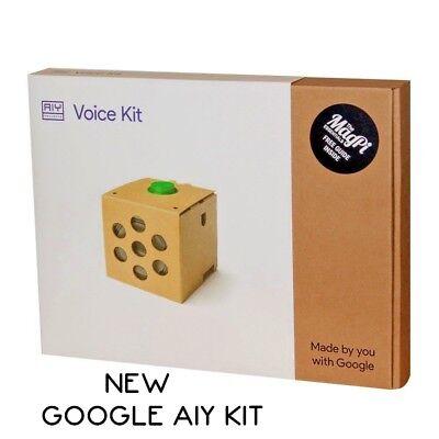 Google Aiy Voice Kit For Raspberry Pi 3   Brand New