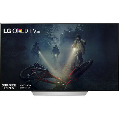 "LG OLED55C7P - 55"" C7P OLED 4K HDR Smart TV (2017 Model) - Refurbished"
