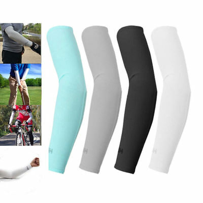 Outdoor Sports Cooling arm sleeves Cycling Golf Sun UV Cover Protection 1 pair