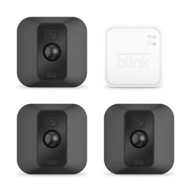 Blink XT starter kit 3 cameras indoor outdoor battery motion Android iOS iPhone NEW WARRANTY