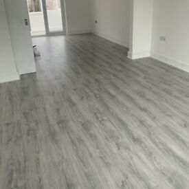 Laminate flooring fit ONLY £95 PER ROOM!