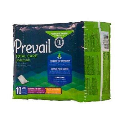 Underpad Prevail Super, 30 X 30 Inch, Heavy Absorbency, UP-100 - Case of 100 ()