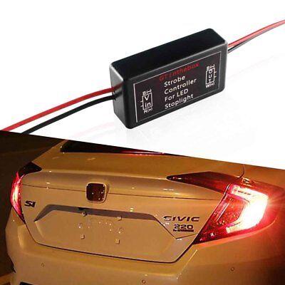 Insight Lights Accessories - 1X 12V GS-100A LED Brake Stop Light Strobe Flash Module Controller Box Accessory