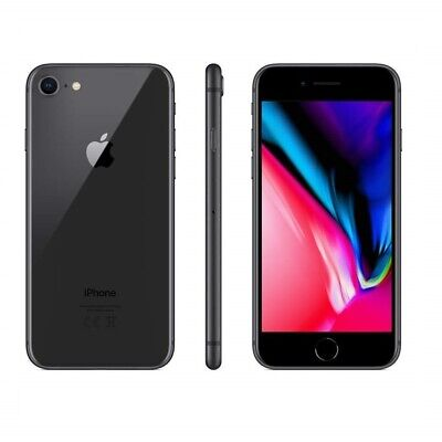 IPHONE 8 RICONDIZIONATO 64GB GRADO B NERO BLACK ORIGINALE APPLE RIGENERATO