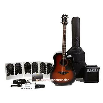 Keith Urban Acoustic-Electric Ripcord 44-piece Guitar Package With DVDs Copper