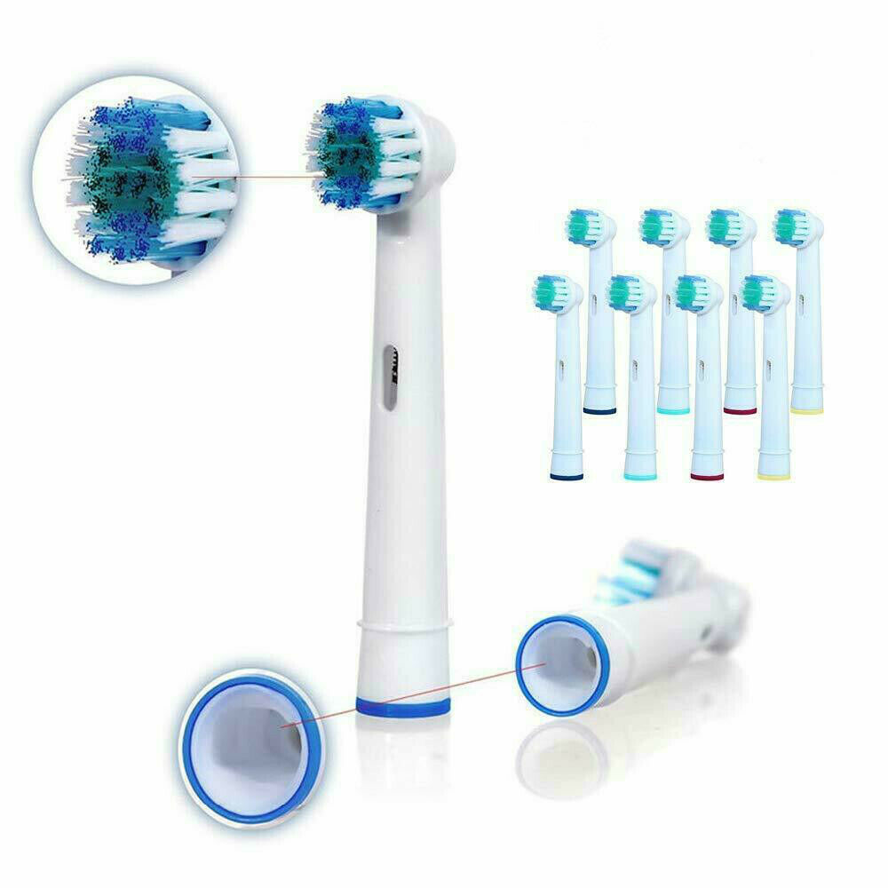 Details about For oral b pro 600 2000 braun replacement electric toothbrush heads compatible