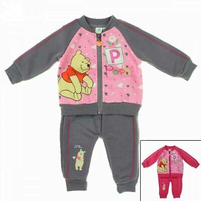 Baby/Kleinkind Mädchen Disney Winnie Pooh Jogginganzug 2-Teiler 2 Farben