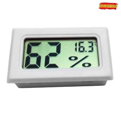 Termómetro Higrómetro Termohigrometro Medidor Temperatura Y Humedad (Con Pilas)