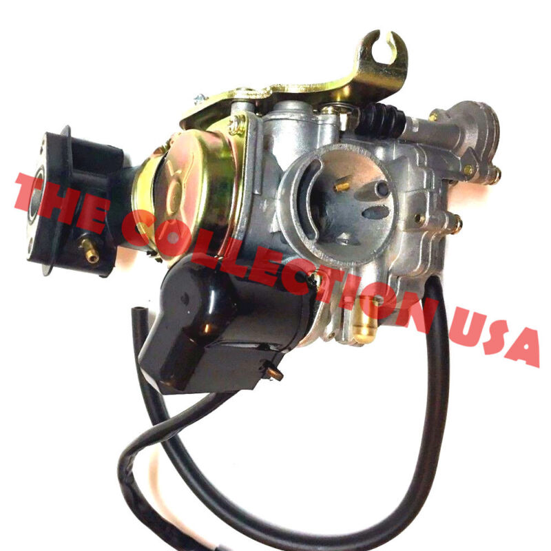 20mm Qlink 50cc 50 Carburetor /& Intake Manifold Boot Scooter Moped Carb NEW