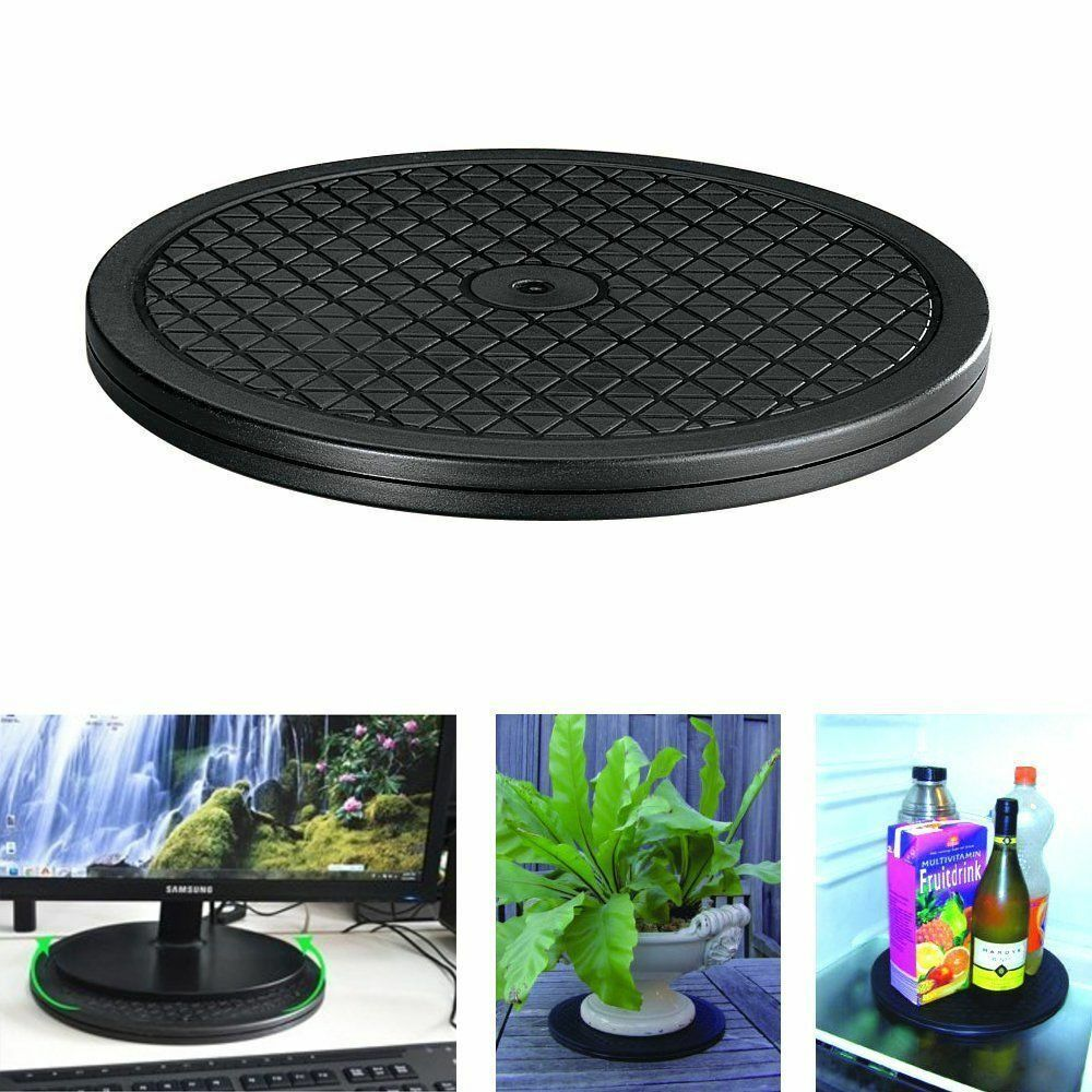 New Multipurpose 10″ Rotating Turntable Lazy Susan 65lbs 360 Swivel Home Kitchen Home & Garden