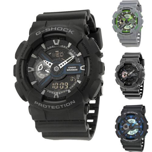 Casio G Shock Analog  Digital Resin Strap Mens Watch