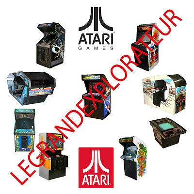 Ultimate ATARI Arcade Operation Repair Service manual     550 PDF manuals on DVD