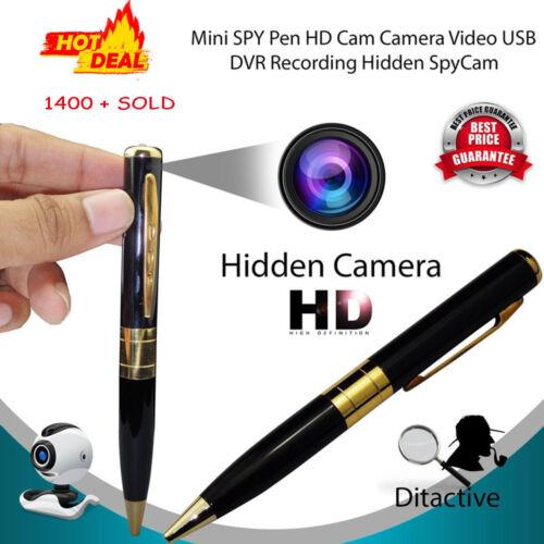 Mini DV DVR Hidden Spy HD Pen Video Camera Recorder 1280*960 Spy Camcorder Cam
