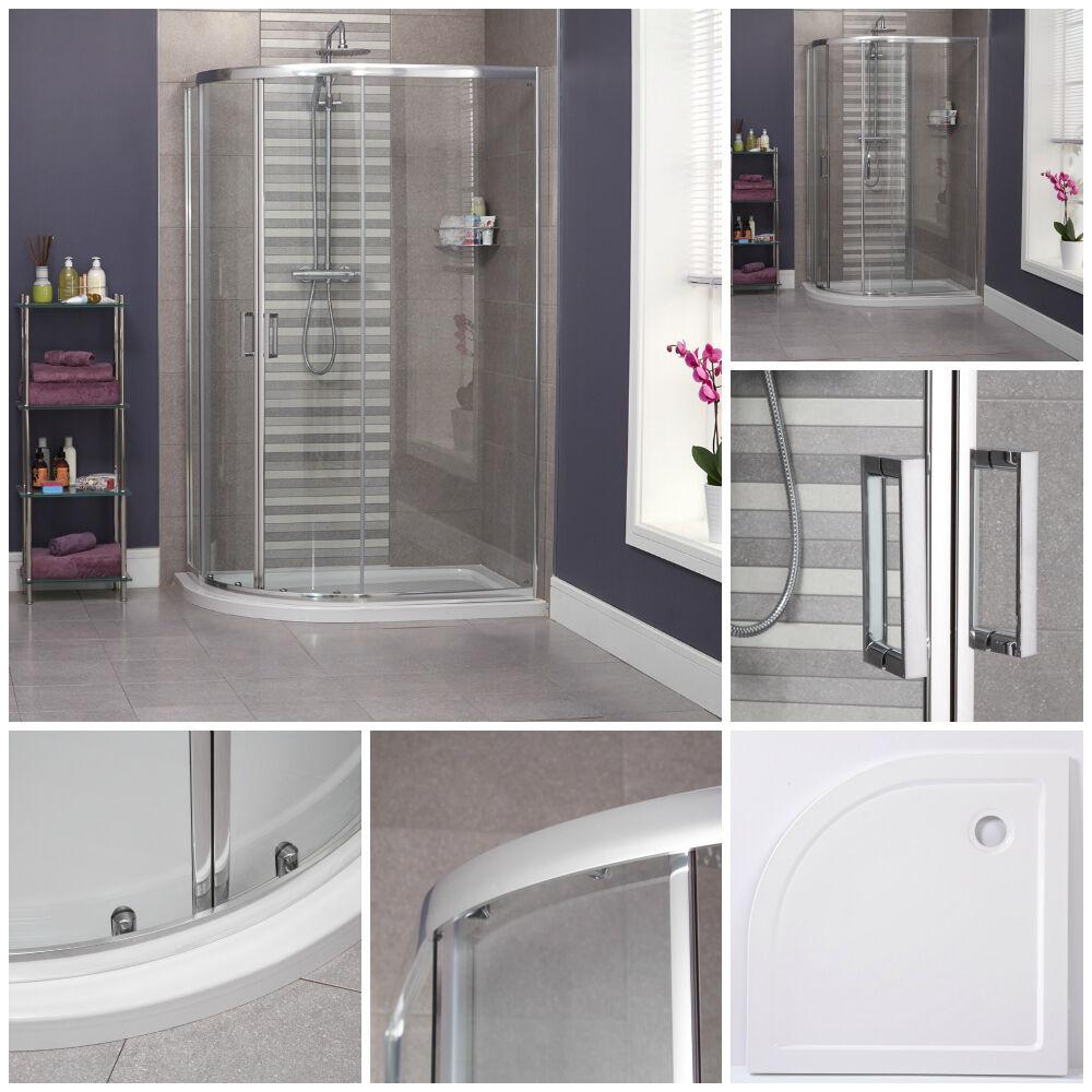 Maestro bath slide front page - 1200 X 800 Quadrant Shower Left Hand Bathroom Sliding Offset Tray Cubicle
