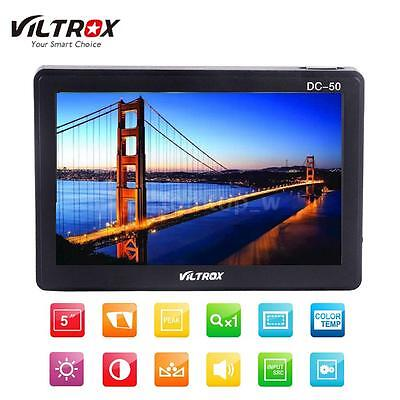 "Viltrox DC50Ⅱ 5""LCD HD Video Monitor AV WideAngle for DSLR Camera Camcorder"