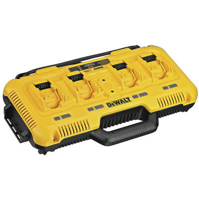 DEWALT 12V/20V 4 Port Fast Charger DCB104 New