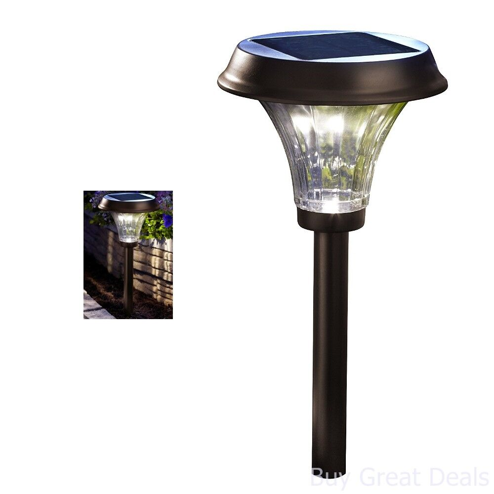 Details About Large Outdoor 24 LED Solar Garden Pathway Light Super Bright  Path Garden Patio