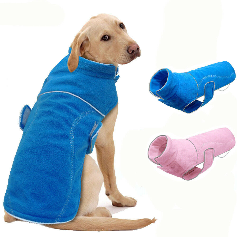 Winter Dog Coats Boy Girl Fleece Dog Sweater Jacket For