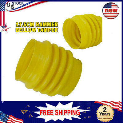 Professional Jumping Jack Bellows Boot For Wacker Rammer Compactor Tamper Us New