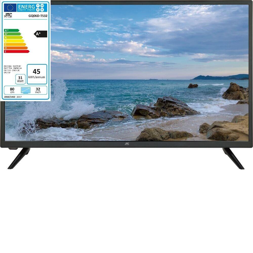 JTC LED TV Titanis 3.2 HD Fernseher 32 Zoll 80cm Triple Tuner DVB-T2 DVB-S2