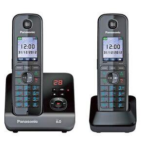 NEW Panasonic Cordless Phone Answering Machine 1 Dect KX TG8162ALB Home Phone 8887549469060  eBay