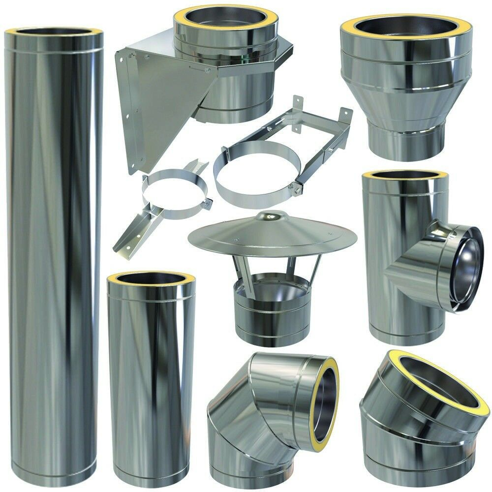 Convesa insulated flue pipes (NEW) heating