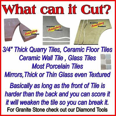 The Amazing Tile And Glass Cutter™ Ceramic Floor Mirrors Stained Glass Mosaics 5