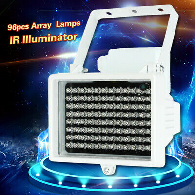 96LEDs Illuminator IR Infrared Night Vision Light Outdoor Lamp For CCTV Cameras