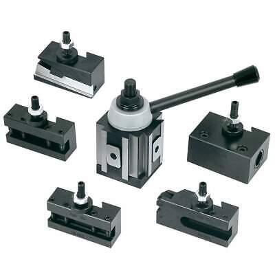 New Tool Post Set Cnc High Precision Quick Change Lathe Holder 100 Series