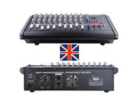 2000Watts 10 Channel Professional Powered Mixer with USB and CD portal+Case.