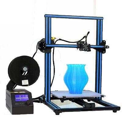 HICTOP Aluminum CR-10 Large 3D Printer Prusa I3 DIY Kit Print Size 300x300x400mm