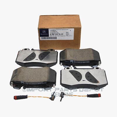 Mercedes Front Brake Pads Pad Set Genuine OE 0059520 + Sensor 2pcs VIN#REQUIRED