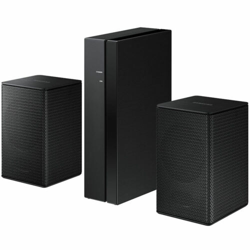 Samsung Wireless Rear Loudspeakers works with select Samsung soundbars (Pair) Black SWA-8500S/ZA