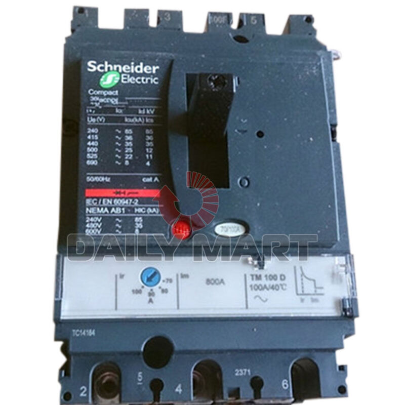 Schneider Electric LV429742 Compact NSX Molded Case Circuit Breakers Inverters