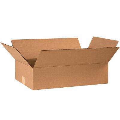 25 - 24 X 14 X 6 Cardboard Shipping Boxes Flat Corrugated Cartons