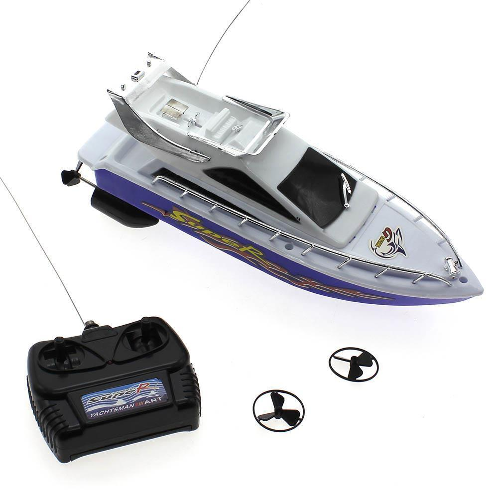 2016 Child Mini Remote Control Boat Speed Electric Toy Model Ship Sailing Game