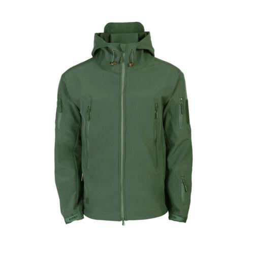 COMBAT Waterproof Tactical Soft Shell Men's Jacket Coat Army Windbreaker Outdoor