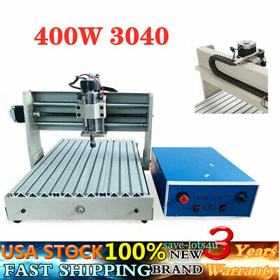 Usb 4 Axis 400w Cnc 3040 Router 3d Engraver Engraving Drilling Milling Machine