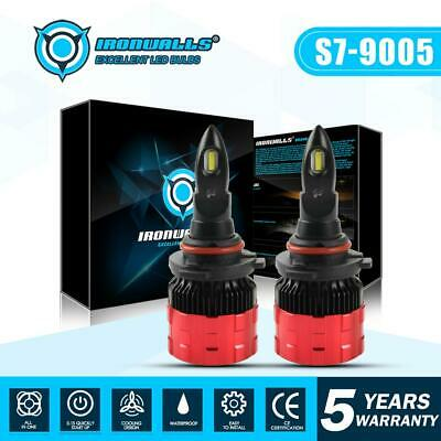 9005 9145 H10 High Beam LED Headlights Car Lights Bulbs 2100 315000LM 6500K New