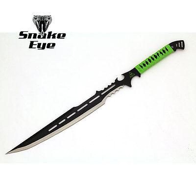 Snake Sword (Snake Eye Tactical Apocalypse Fantasy Sword w/ Nylon)
