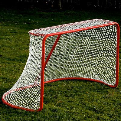 "Hockey Goal & Net, 72"" Pro-Style Rounded Back, Heavy-Duty Steel Goal, Complete!"
